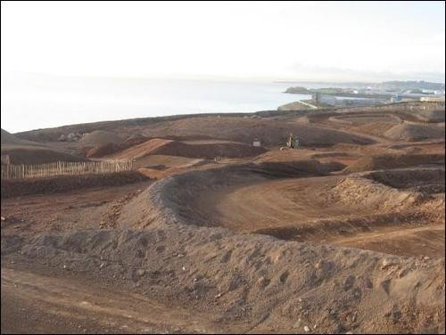 CMX Centre Motocross and Minibike Track, click to view larger version